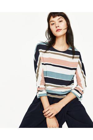 Kvinder Skjorter - Zara STRIBET KIMONOTOP
