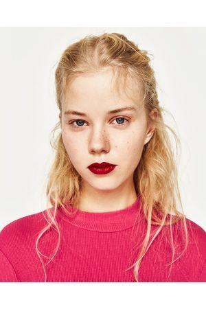 Kvinder Højhalset - Zara OVERDEL MED RULLEKRAVE I RIB - Fås i flere farver