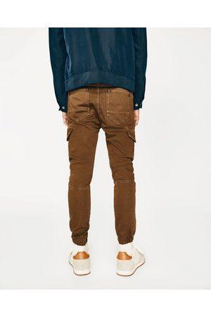 Mænd Cargo bukser - Zara SOFT CARGO BUKSER - Fås i flere farver