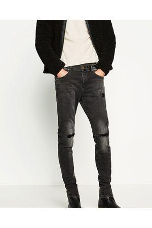 Mænd Slim & Skinny bukser - Zara DENIM BUKSER SKINNY FIT - Fås i flere farver