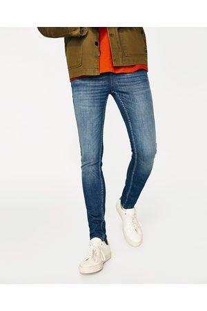 Mænd Skinny - Zara BASIC, SKINNY JEANS - Fås i flere farver