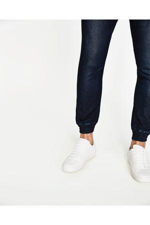 Mænd Jeans - Zara SOFT DENIM CHINOBUKSER I JOGGINGSTIL - Fås i flere farver