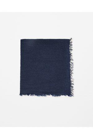 Mænd Tørklæder - Zara SILDEBENSSTRIBET TØRKLÆDE - Fås i flere farver